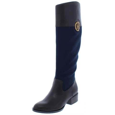 Tommy Hilfiger Womens Madelen 2 Closed Toe Over Knee Fashion Boots