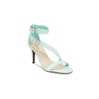 Bar III Womens Hillary Open Toe Ankle Strap D-orsay Pumps
