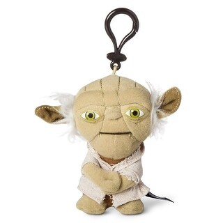 "Star Wars 4"" Mini Talking Plush Clip On: Yoda - multi"