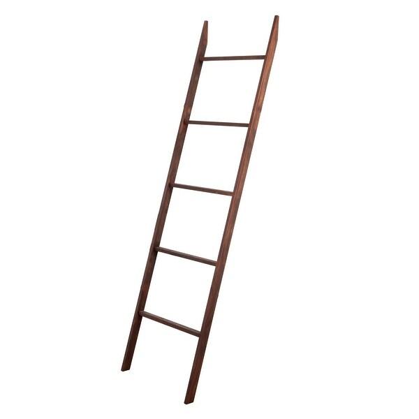 BrandtWorks Carrington Minimal Blanket ladder 20'' x 72''
