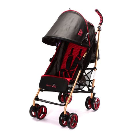 WonderBuggy Baby Stroller Infant 6 - 48 months - New Red/Black