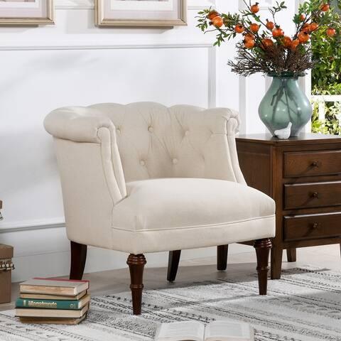 Carson Carrington Sofia Tufted Contemporary Accent Chair