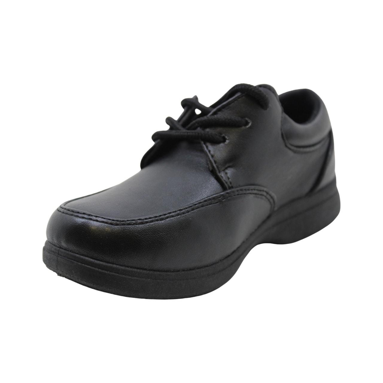 Hawkwell Boys School Uniform Dress Shoe Little Kid 13 M US Black PU