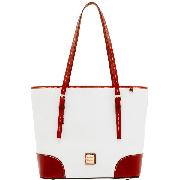 Dooney & Bourke Oberland Dover Tote (Introduced by Dooney & Bourke at $298 in Feb 2017) - White