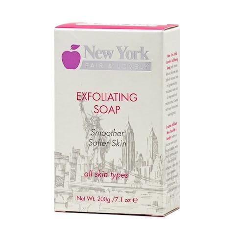 New York Fair & Lovely Exfoliating Soap 200g/7.1oz