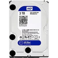 "Western Digital Blue Wd30ezrz 3Tb 3.5"" Desktop Internal Hard Disk Drive With 5400 Rpm Sata 6Gbps 64Mb Cache"