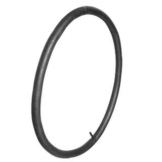 Bike Bicycle Schrader Valve Cap Black Rubber Inner Tire Tube 24 x 1.75/1.95