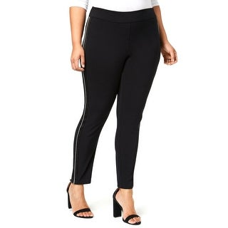 Link to INC Womens Dress Pants Black Size 20W Plus Skinny Pull-On Stretch Similar Items in Pants