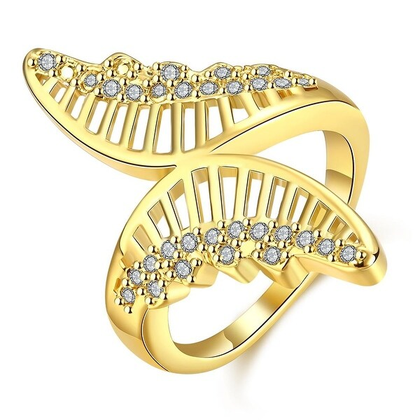 Hollow Gold Butterfly Ring
