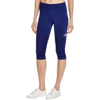 Adidas Womens Capri Pants Mesh Comfort Waist