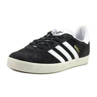 Adidas Gazelle Youth Round Toe Suede Gray Running Shoe