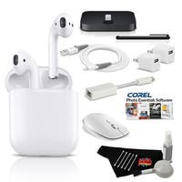 MacBook Air Ultimate Music & Podcast Accessory Bundle w/ Airpods