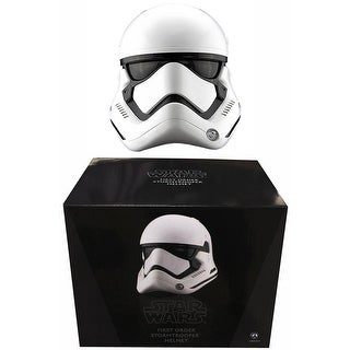 Star Wars The Force Awakens Stormtrooper 1:1 Scale Helmet By Anovos