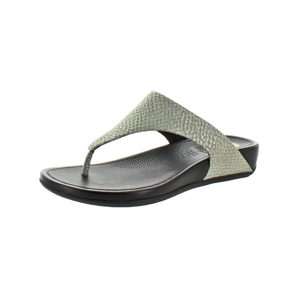 df87a7fa1 Shop Fitflop Womens Banda Thong Sandals Wedge - Free Shipping Today ...