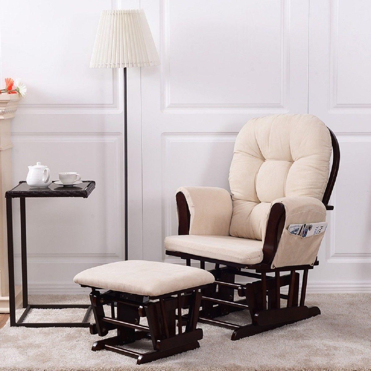 Shop Costway Baby Nursery Relax Rocker Rocking Chair Glider