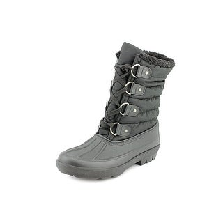 Dirty Laundry Blizzard Women Round Toe Canvas Black Winter Boot