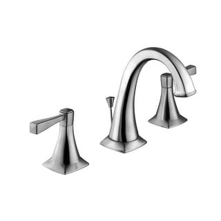 Design House 546937  Perth 1.2 GPM Widespread Bathroom Faucet - Satin Nickel