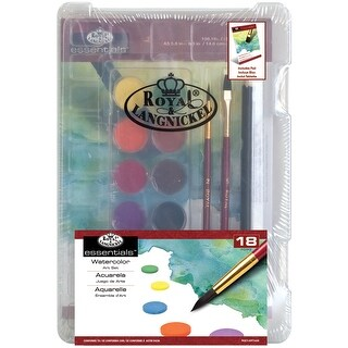 Clearview Mini Art Set-Watercolor Art 18pc - watercolor art 18pc