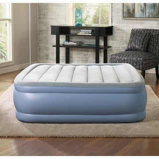 Link to Simmons Beautyrest Queen Hi Loft Inflatable Air Mattress Similar Items in Bedroom Furniture