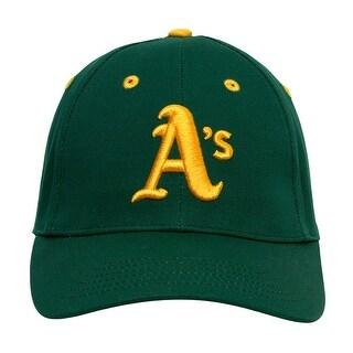 MLB Genuine Merchandise Oakland A's Green/Yellow Baseball Cap