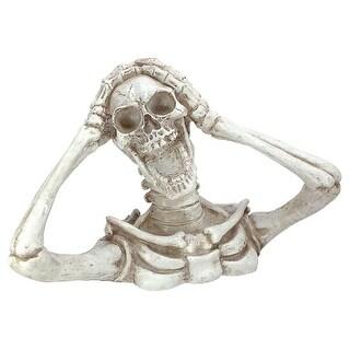 Design Toscano Halloween  Shriek, the Skeleton Statue: Large
