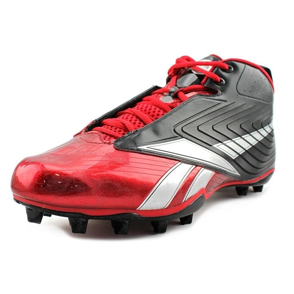 Reebok NFL U-Form 4Speed Mid M4 Men Black/Red Cleats