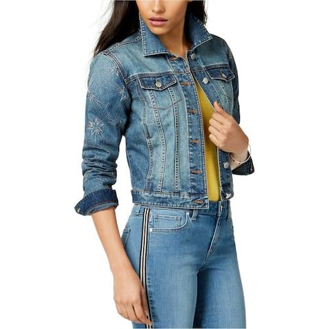 Maison Jules Womens Denim Star Down Jacket