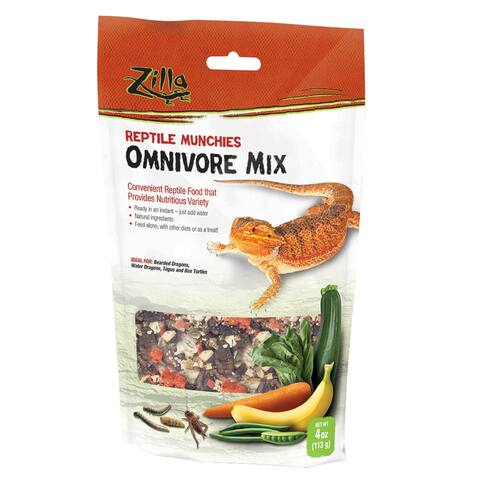 Zilla Reptile Munchies Omnivore 4 ounces - 4 ounces