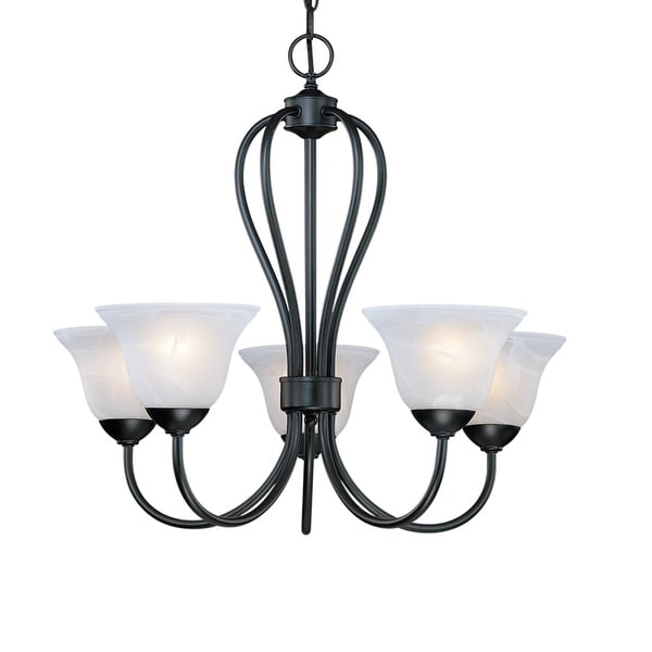 Millennium Lighting 75 Main Street 5-Light Single Tier Chandelier - n/a
