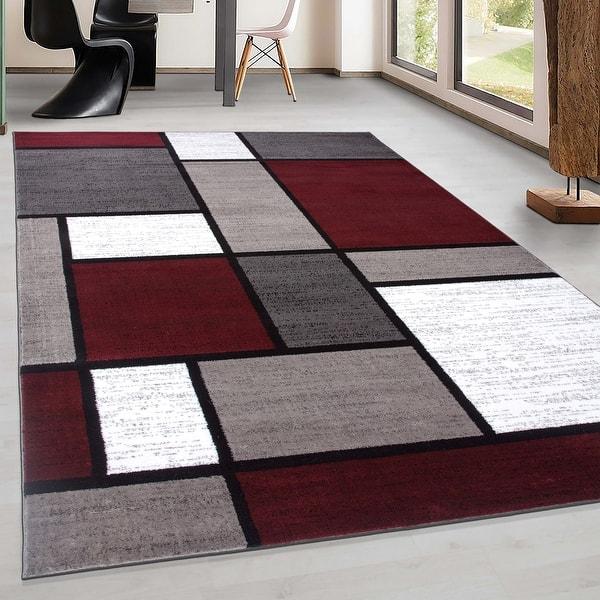 Contemporary Modern Boxed Color Block