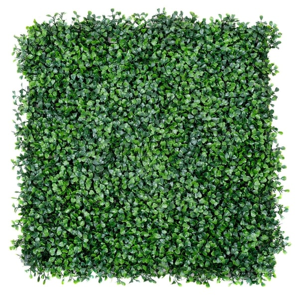 Costway 12 Artificial Hedge Plant Privacy Fence Screen Topiary. Opens flyout.