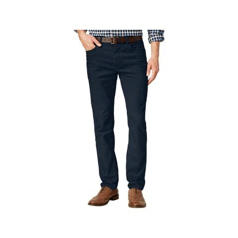 Tommy Hilfiger Mens Corduroy Pants Custom Fit Straight Leg