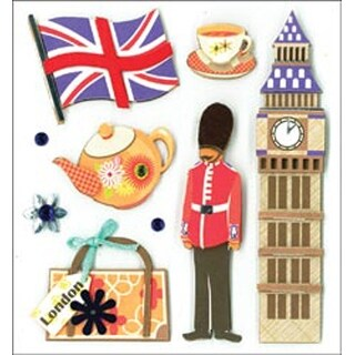 Sites Of London - Dimensional Stickers