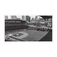 Houston Astros - Minute Maid Park Touch of Color Baseball Ballparks Matte Poster 36x20