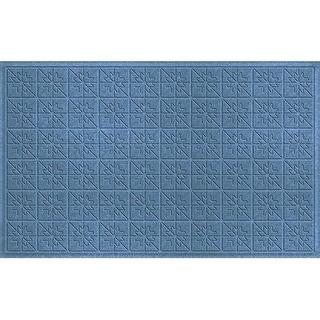 843580024 Water Guard Star Quilt Mat in Bluestone - 2 ft. x 4 ft. ft.
