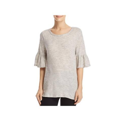 Splendid Womens T-Shirt Cotton Bell Sleeves
