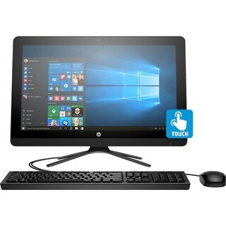 "Manufacturer Refurbished - HP 22-B012 21.5"" AIO Touch Desktop Intel Pentium J3710 1.6GHz 8GB 1TB Windows 10"