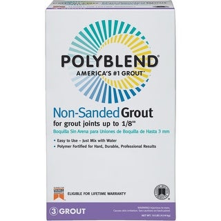 Polyblend 10Lb T Brown Ns Grout