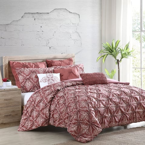 Modern Threads Amaris Printed 8 Piece Comforter Set