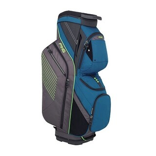New Ping 2018 Traverse Golf Cart Bag (Teal / Graphite / Green) - teal / graphite / green