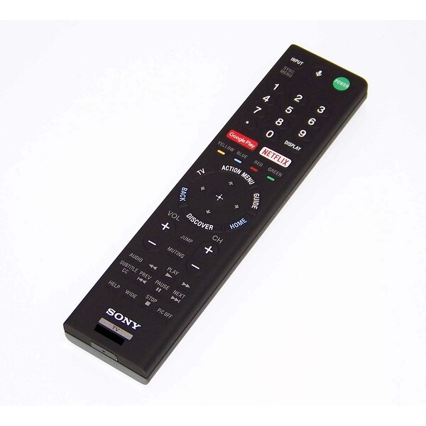 OEM Sony Remote Originally Shipped With: XBR85X850D, XBR-85X850D