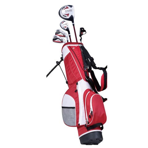 PowerBilt Junior Boys' Ages 12+ Red Series Set RH