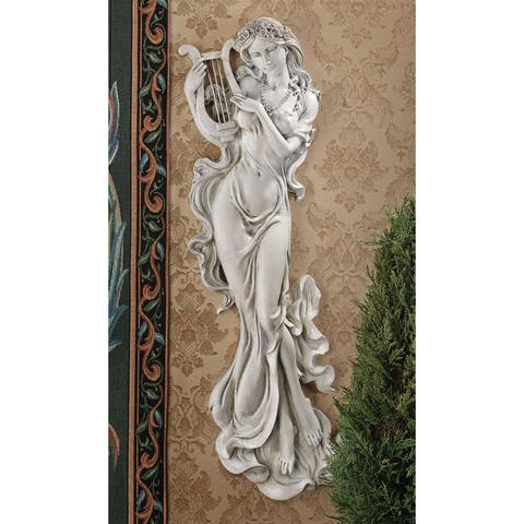 Design Toscano Musical Muse Wall Sculpture: Set of Two