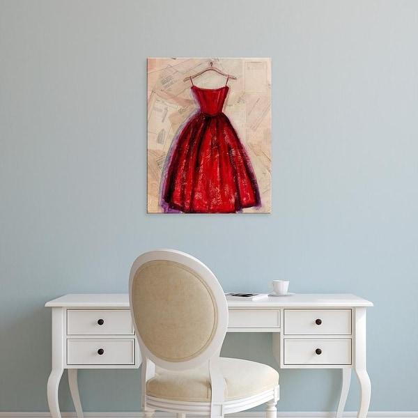 Easy Art Prints Pamela Copeman's 'Fashion Designed II' Premium Canvas Art