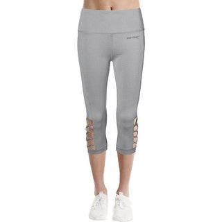 Ellen Tracy Womens Capri Pants Yoga Fitness