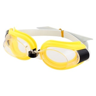 Unique Bargains Adjustable Underwater Sports Clear Lens Swimming Goggles w Earplugs For Kids