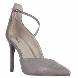 MIA Mona D'Orsay Dress Pumps, Gray Nova