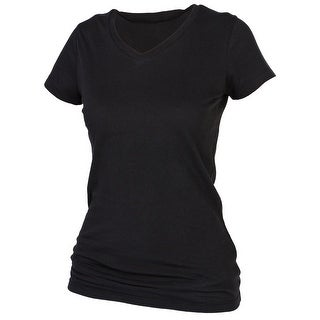Boxercraft Women's Plus Size Cotton V Neck Tee