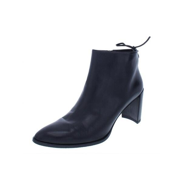3a8b50aaf3c2 Shop Stuart Weitzman Womens Lofty Booties Leather Ankle - Free ...