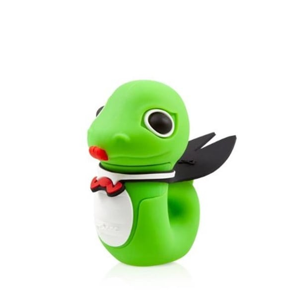 Bone Collection D12041G 8 GB Serpent USB Drive, Green